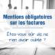 réglementation factures Normandie